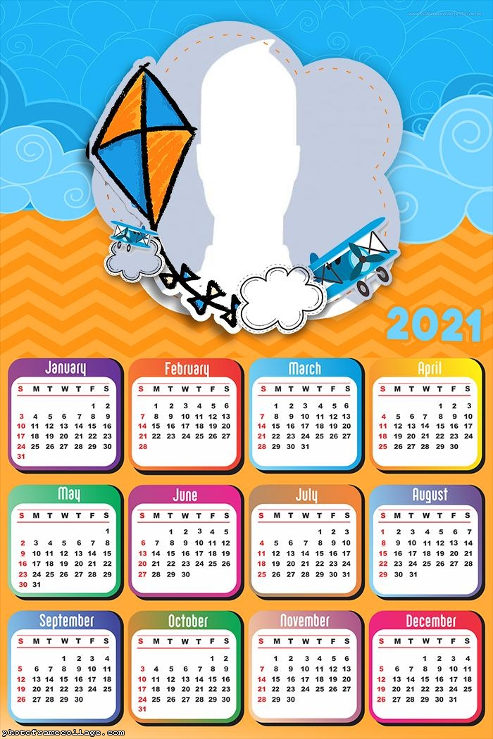 Calendar 2021 Kite