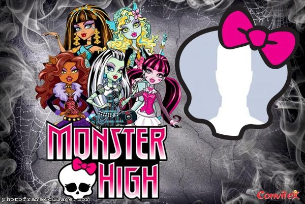 Monster High Photo Collage