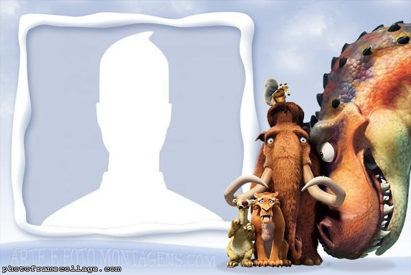 Ice Age Characters Photo Montage