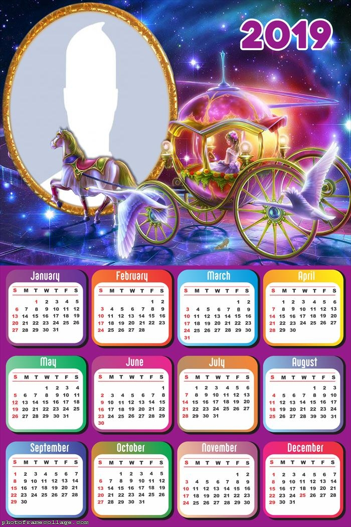 Carriage Calendar 2019