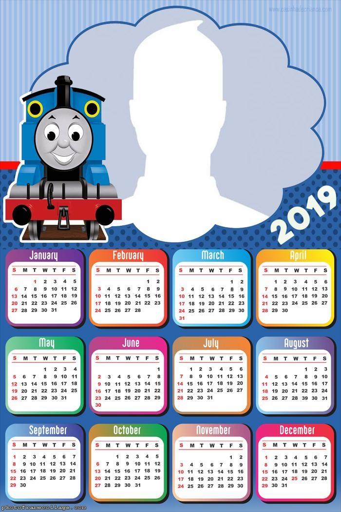 Thomas and Friends Calendar 2019