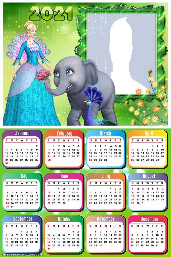 Calendar 20201 Barbie as the Island Princess