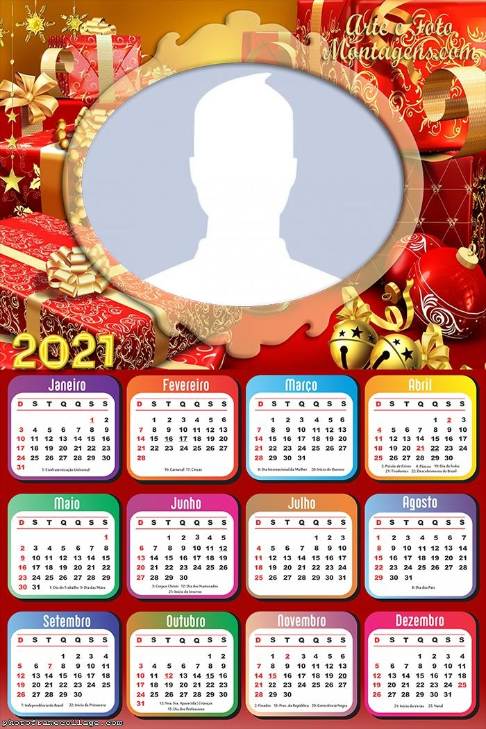 Calendar 2021 Merry Christmas Pictures