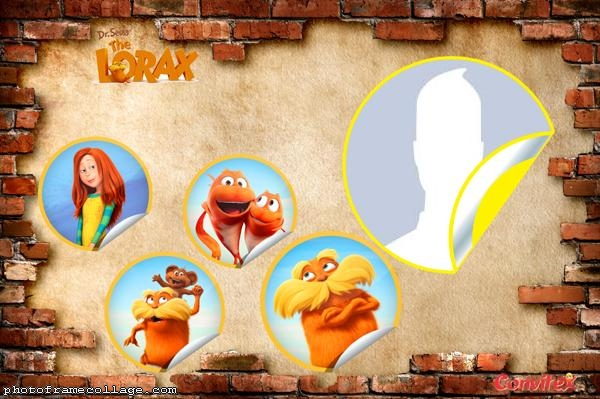The Lorax Photo Collage