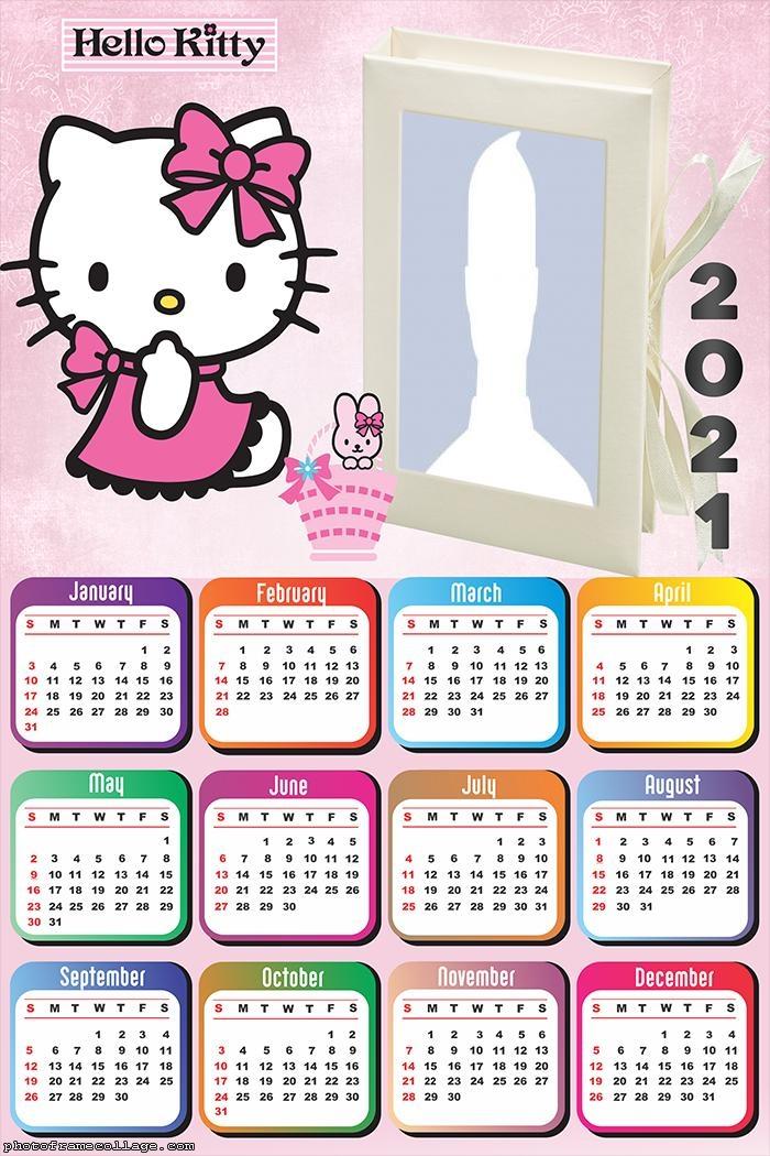 Calendar 2021 Hello Kitty