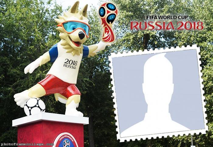 Statue Mascot Russian Cup 2018