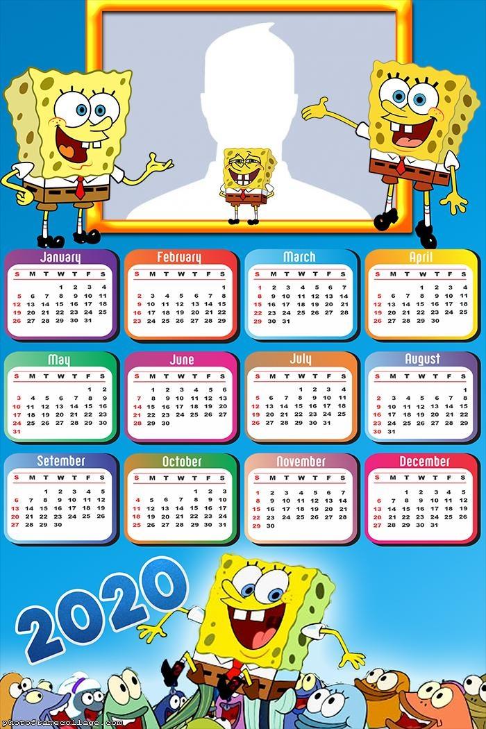 SpongeBob SquarePants Calendar 2020