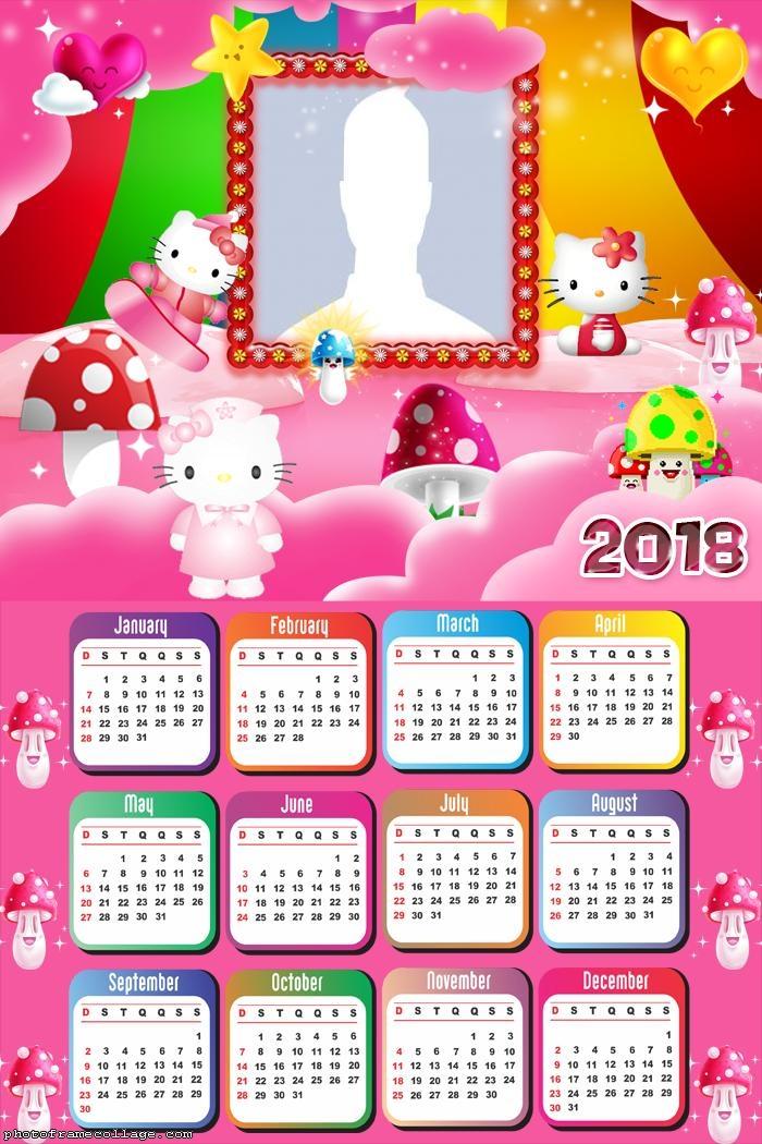 Calendar 2018 Hello Kitty