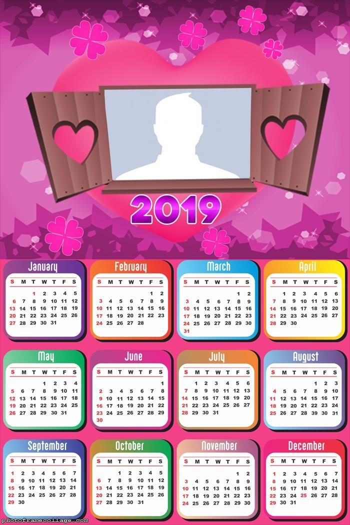 Valentine Calendar 2019