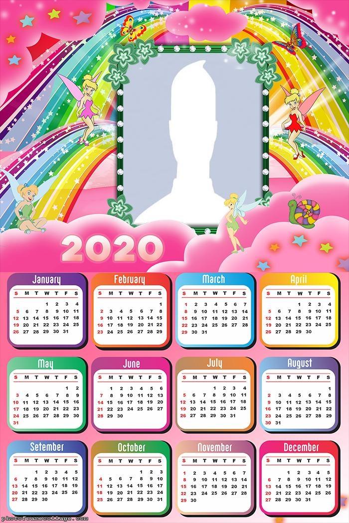 Frame Tinkerbell Calendar 2020
