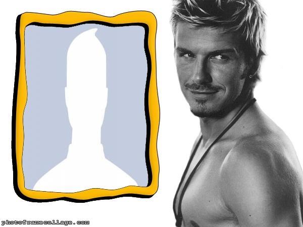 David Beckham Photo Collage