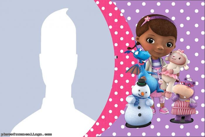 Doc McStuffins Photo Collage