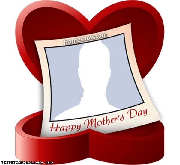 Photo Mothers Day Heart Collage