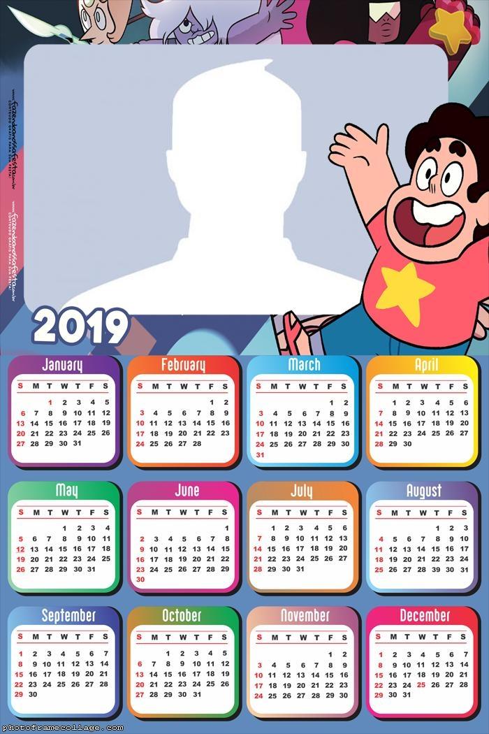 Steven Universe Calendar 2019