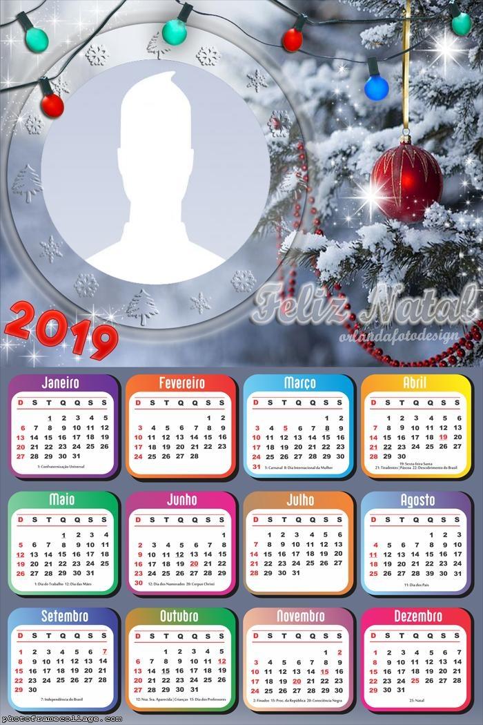 Christmas Lights Calendar 2019