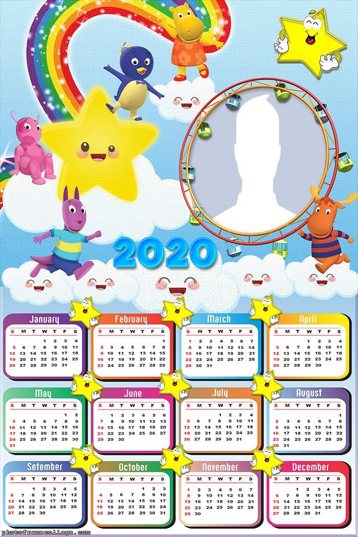 The Backyardigans Stars Calendar 2020