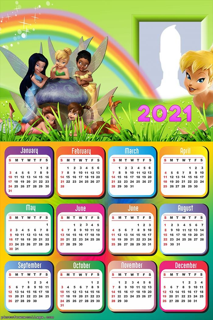Calendar 2021 Little Fairies