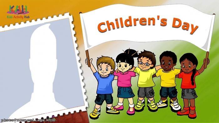 Children Day Photo Montage
