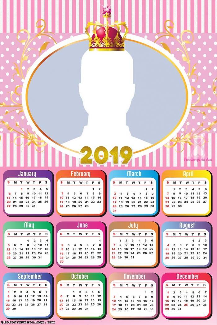 Royals Girls Calendar 2019