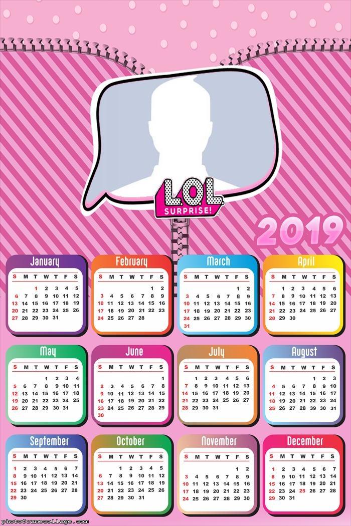 LOL Surprise Calendar 2019