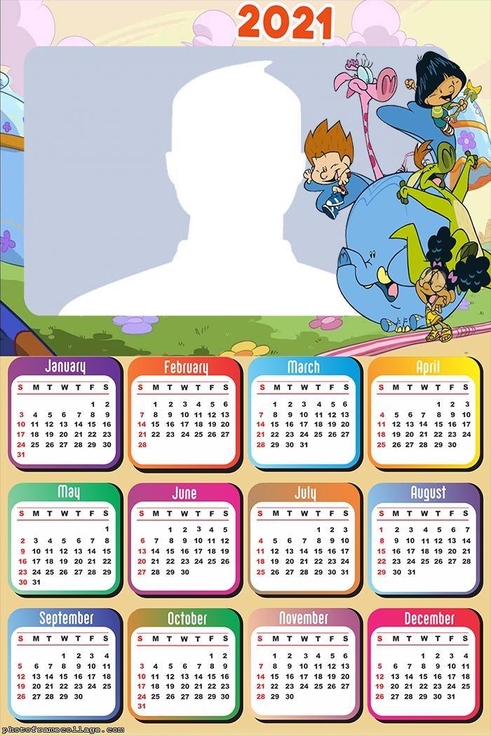 Calendar 2021 My Big Big Friend