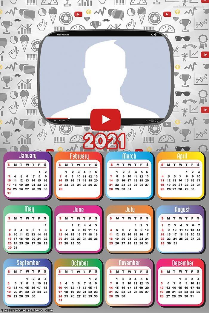 Calendar 2021 Youtube