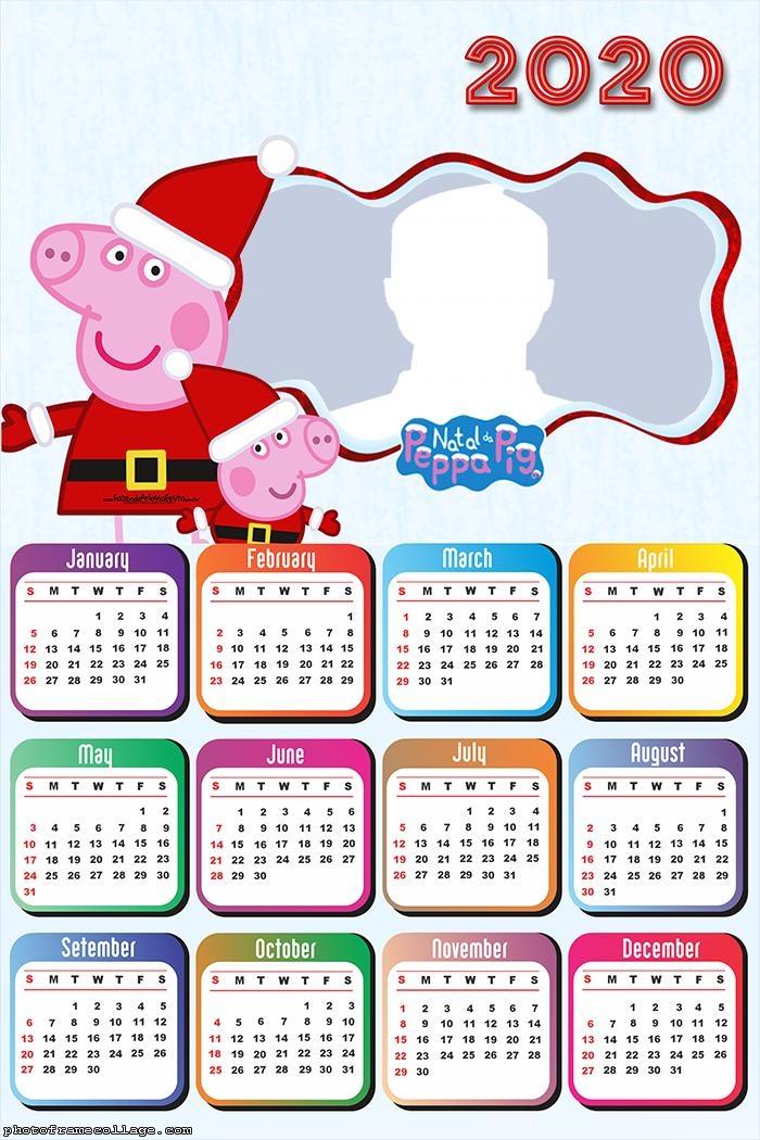 Christmas Peppa Pig Calendar 2020