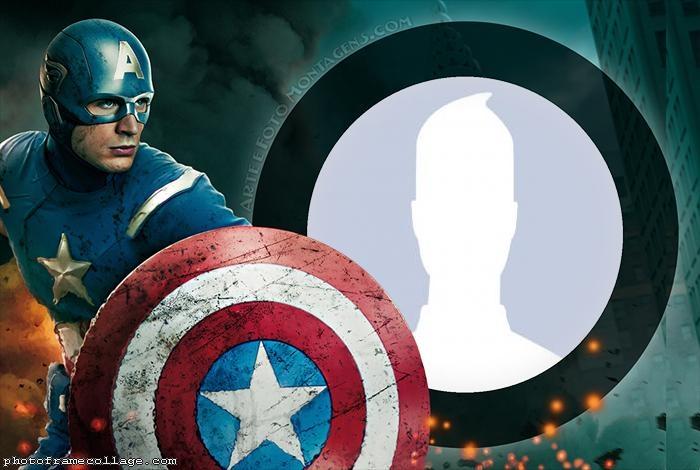 Captain America Shield USA
