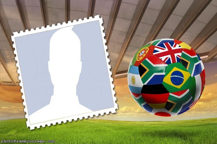 Ball World Cup Photo Montage