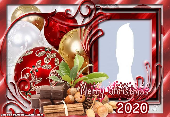 Merry Christmas Family Pitcure Frame