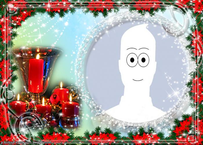 Christmas Decorations Picture Collage