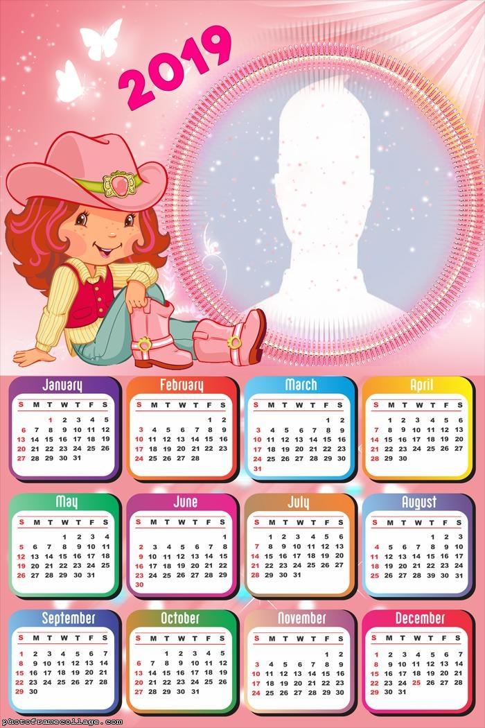 Strawberry Shortcake Calendar 2019