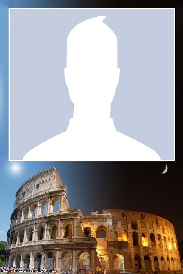 Coliseum Roma Photo Montage