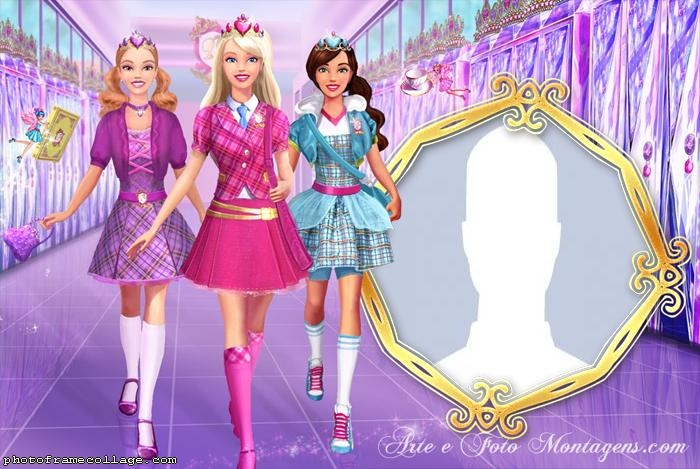 Barbie and Friends Photo Collage