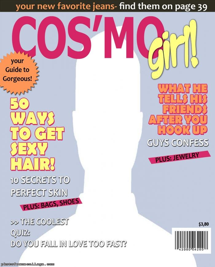 Cosmo Girl Magazine Cover Template