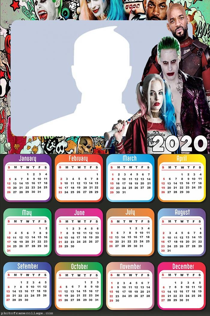 Suicide Squad Calendar 2020