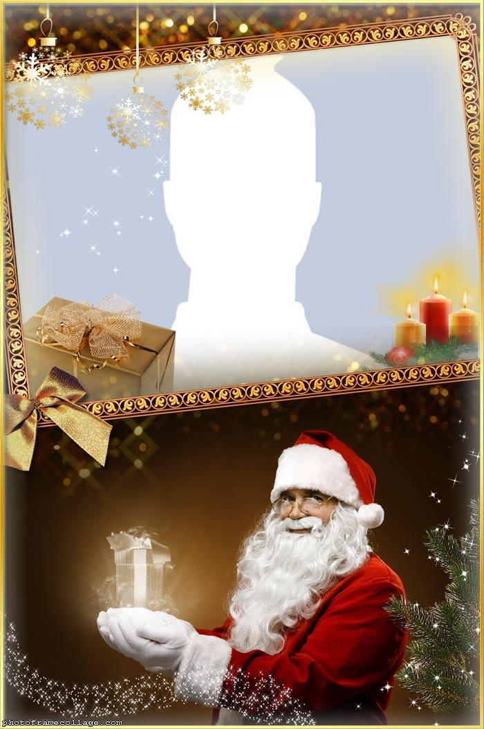 Santa Special Truth Photo Collage