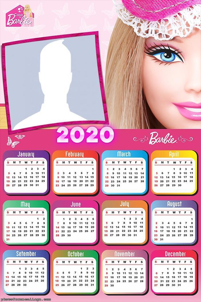Barbie Dream House Calendar 2020