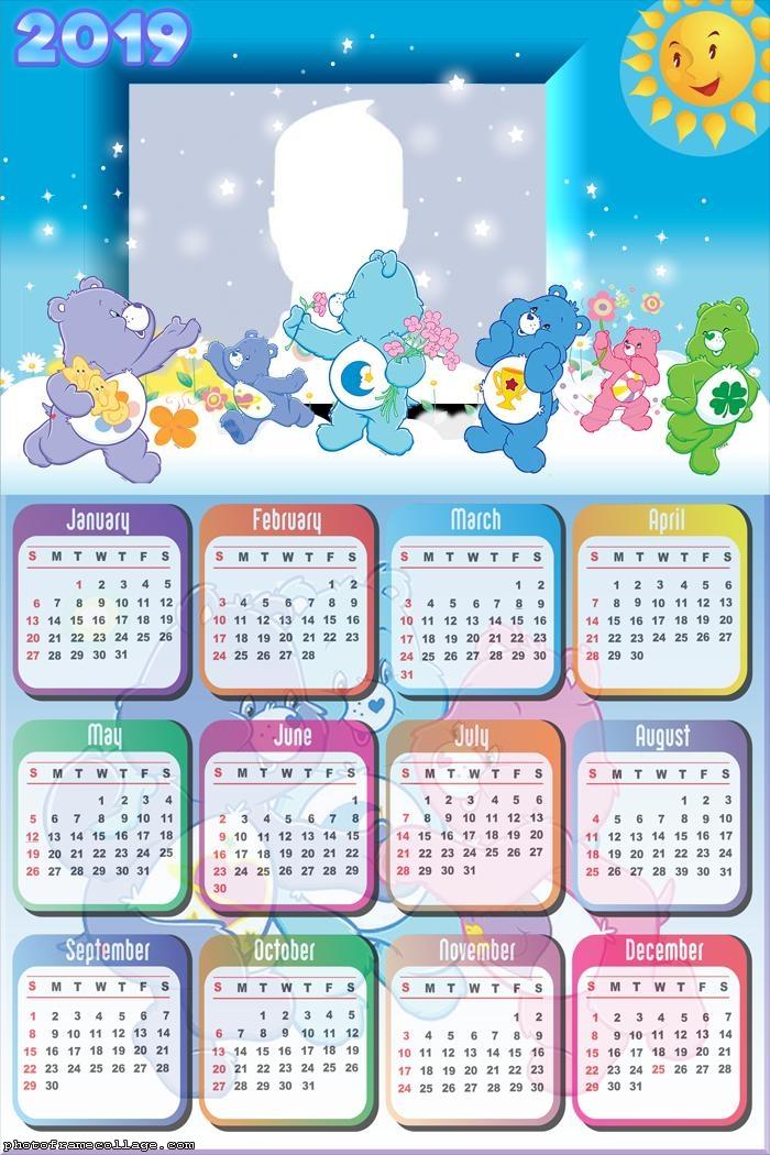 Care Bears Calendar 2019