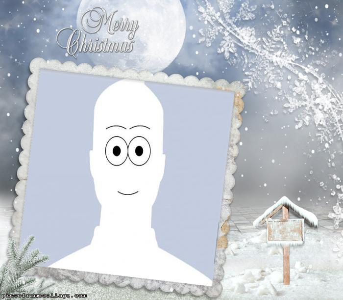 Christmas Snow Make a Photo Collage