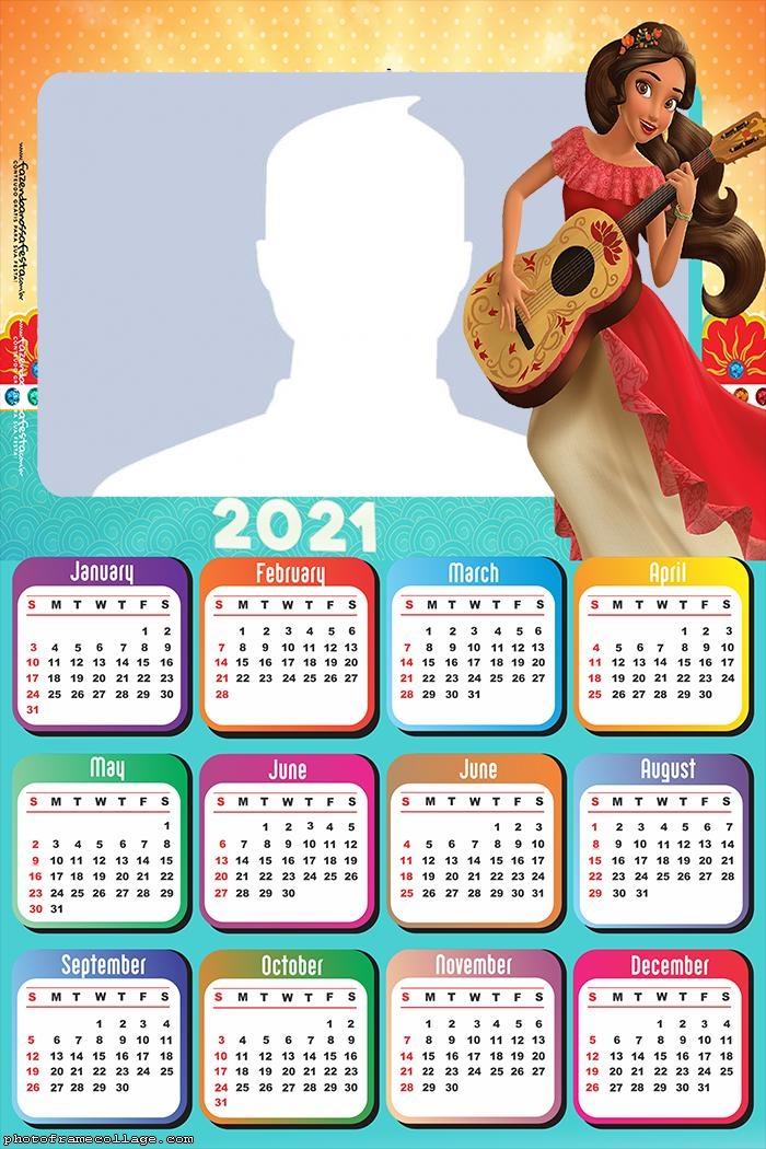 Calendar 2021 Elena Of Avalor