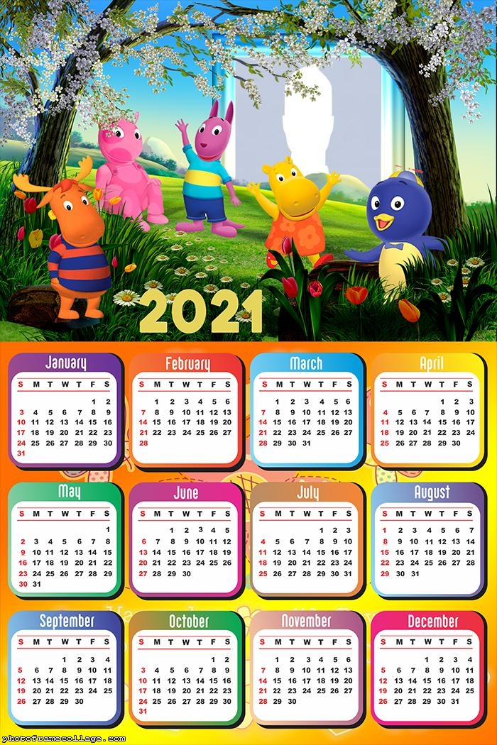 Calendar 2021 Tyrone The Backyardigans