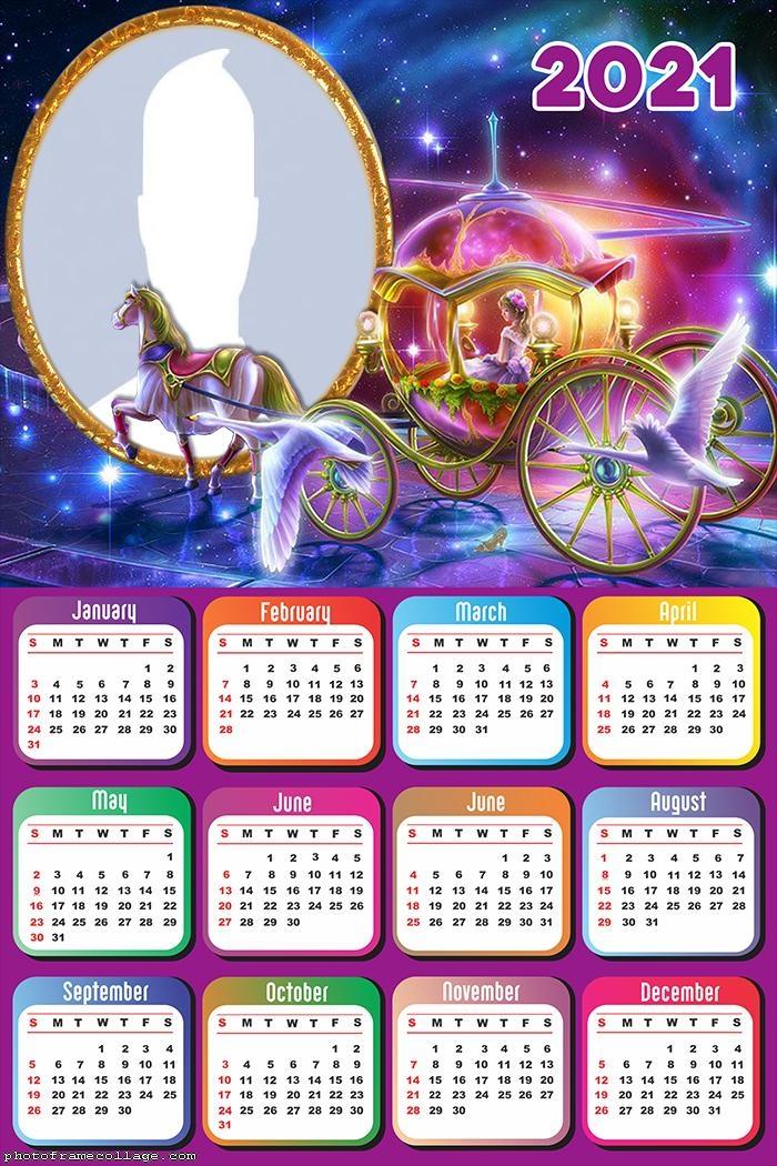 Calendar 2021 Carriage