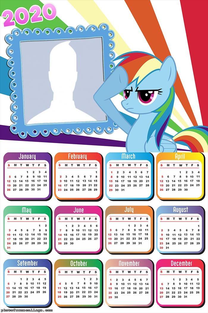 Calendar 2020 My Little Pony