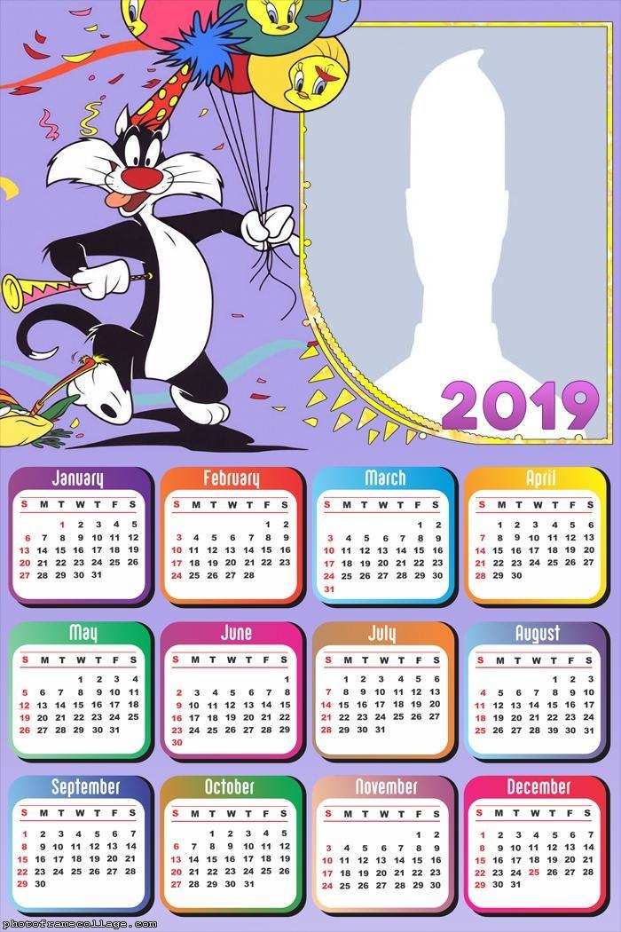Silvestre Birthday Calendar 2019