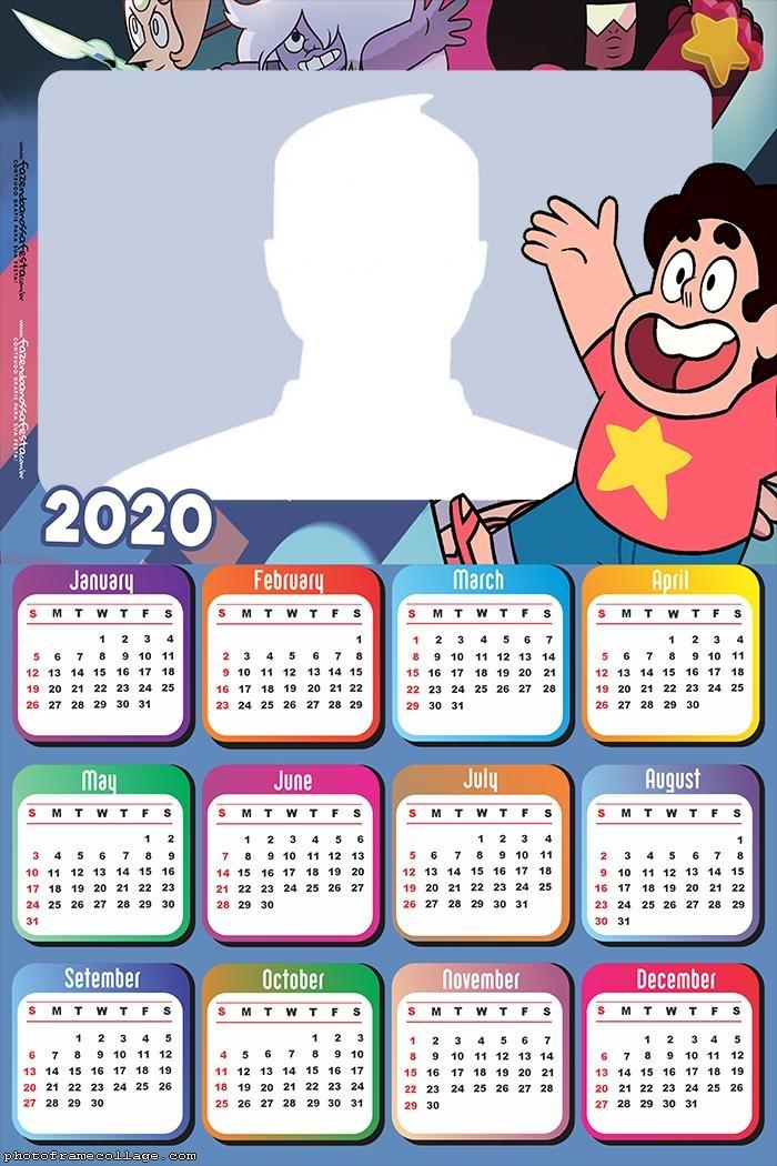 Steve Universe Calendar 2020