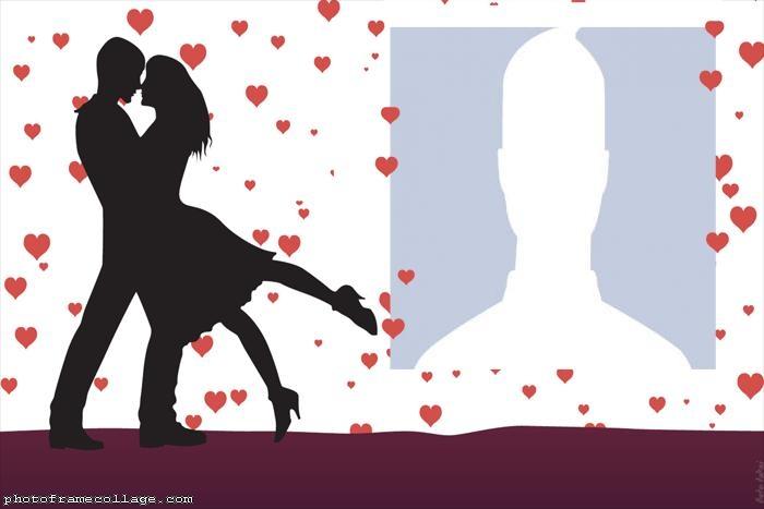 Valentines Day Wedding Collage
