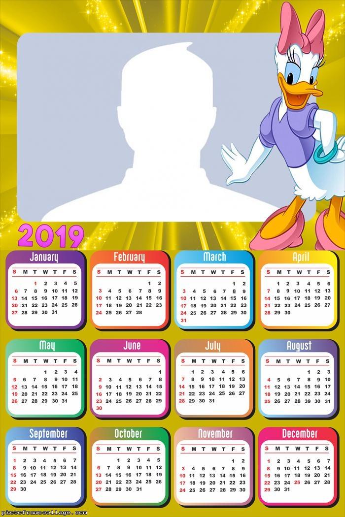 Daisy Disney Calendar 2019