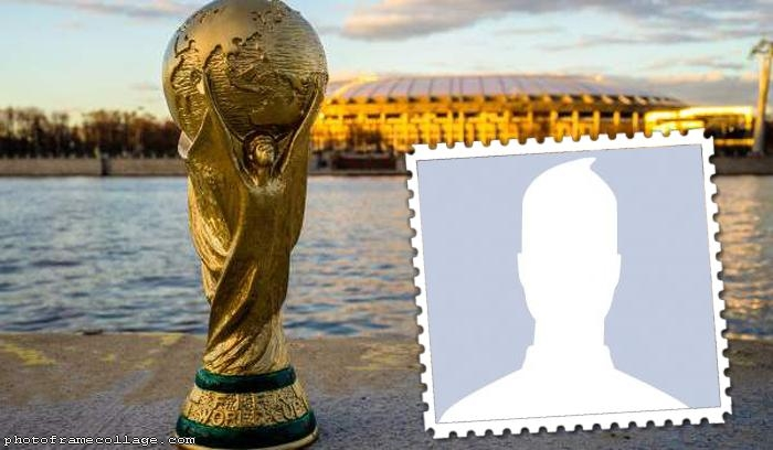 World Cup Stadium Photo Collage