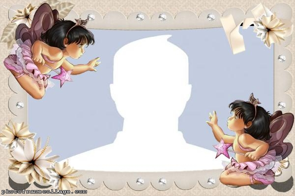 Baby Fairies Photo Collage